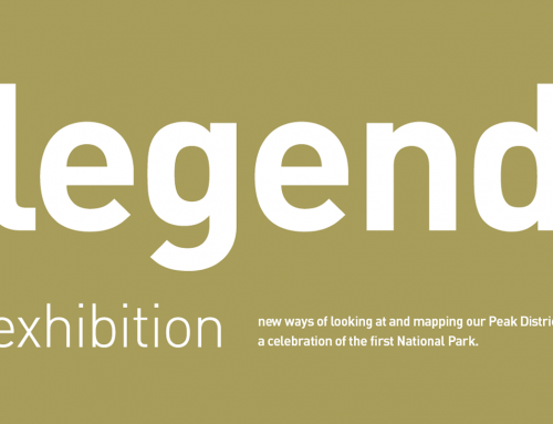 Peak District Design – a NEW Exhibition – Legend – INVITATION – launches May 16th 2019